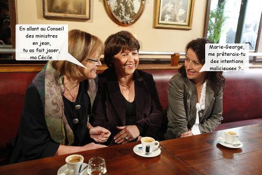 Le jean porté par Cécile Duflot au Conseil des ministres met-il en péril la République ?